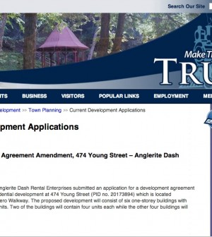 Truro applications