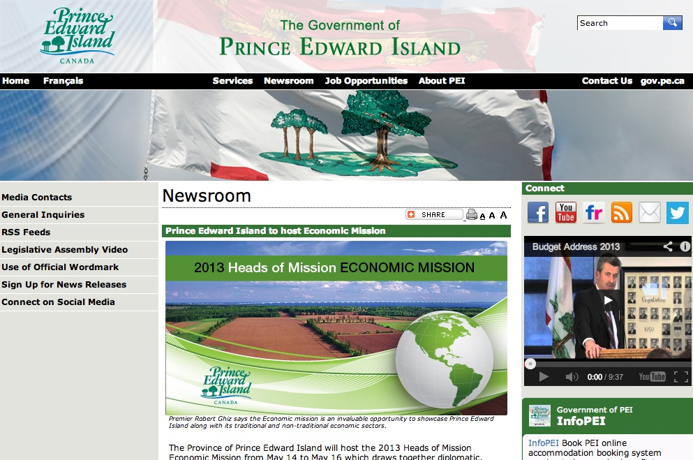 pei government website