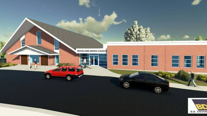 woodlawn church rendering