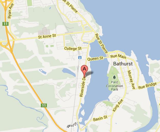 Bathhurst map