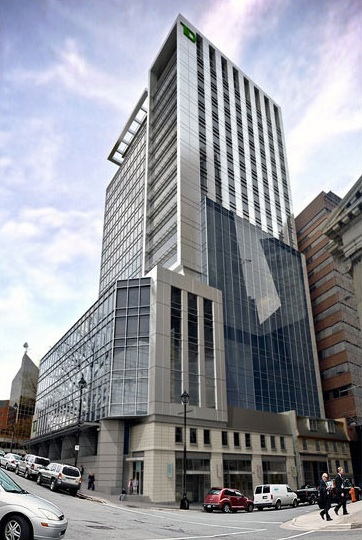 TDB Halifax Holdings signs 10-year lease with TD Bank Group for TD Centre Halifax.