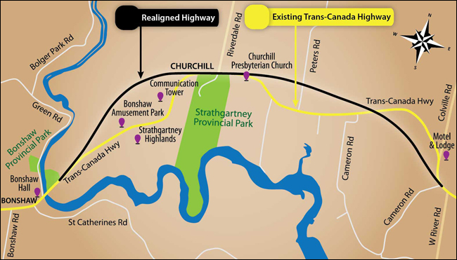 TCH realignment PEI