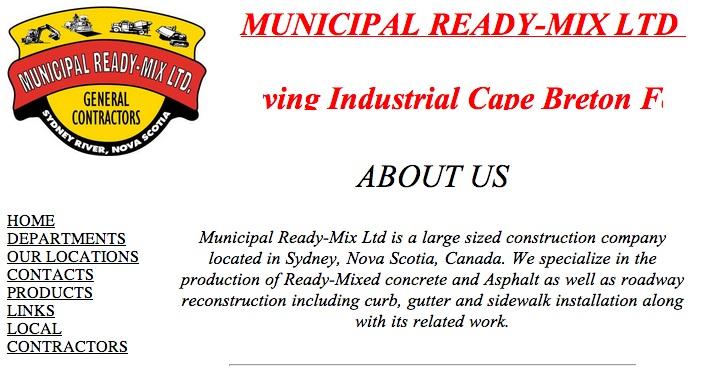 municipal mix cape breton