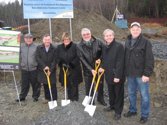 Construction begins on addictions treatment centre in Edmundston
