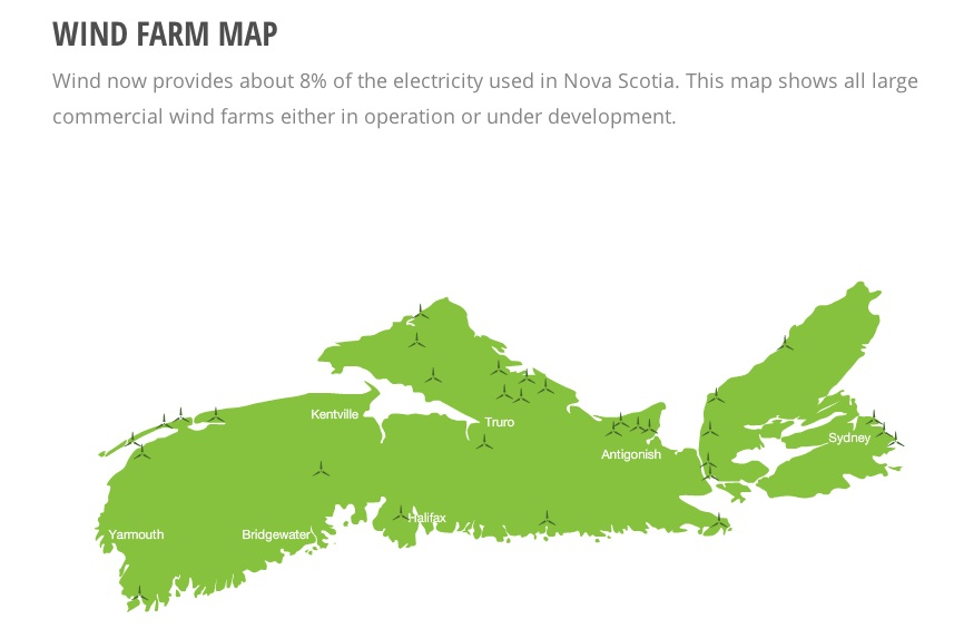 nova scotia wind powe