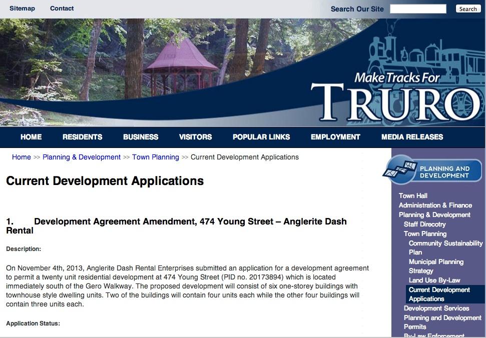 Ns Truro Approves Senior Residential Development Atlantic