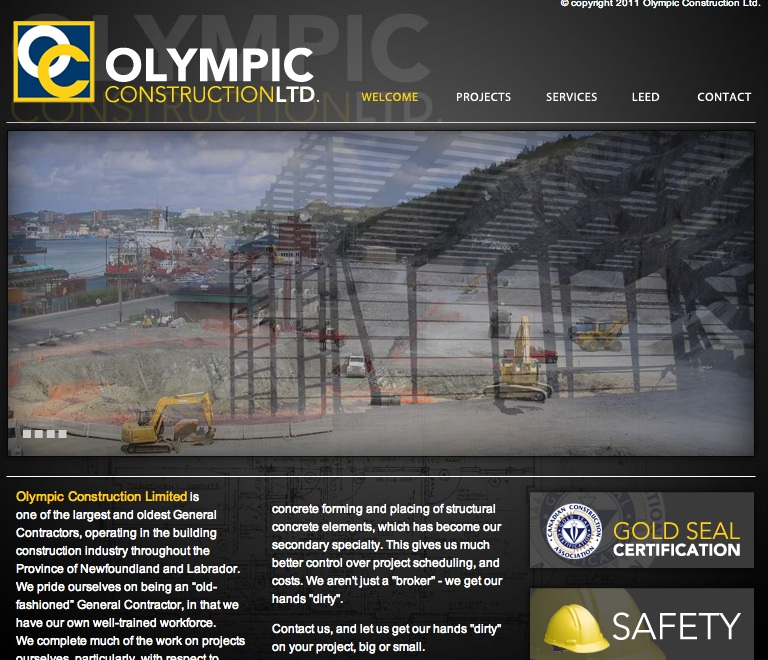 olympic construction