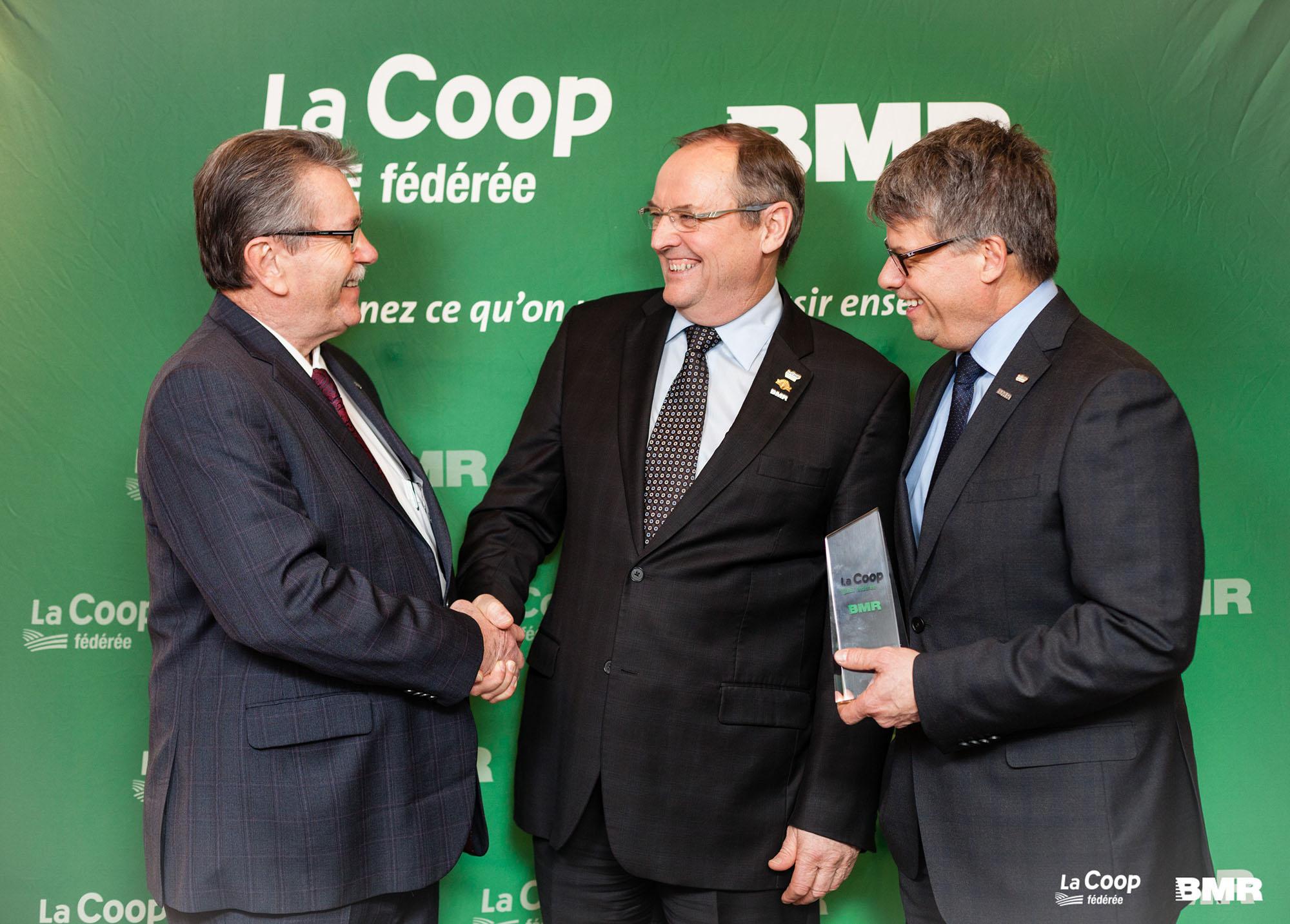 Groupe BMR becomes La Coop fédérée subsdiary