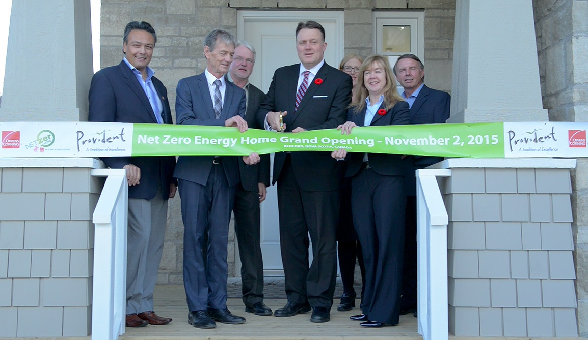 Nova Scotia builder unveils Net Zero Energy Ready home near Halifax