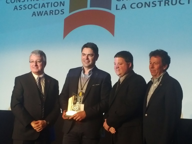 Construction Association of Nova Scotia wins CCA Gold Seal Association Award at Canadian Construction Association annual conference
