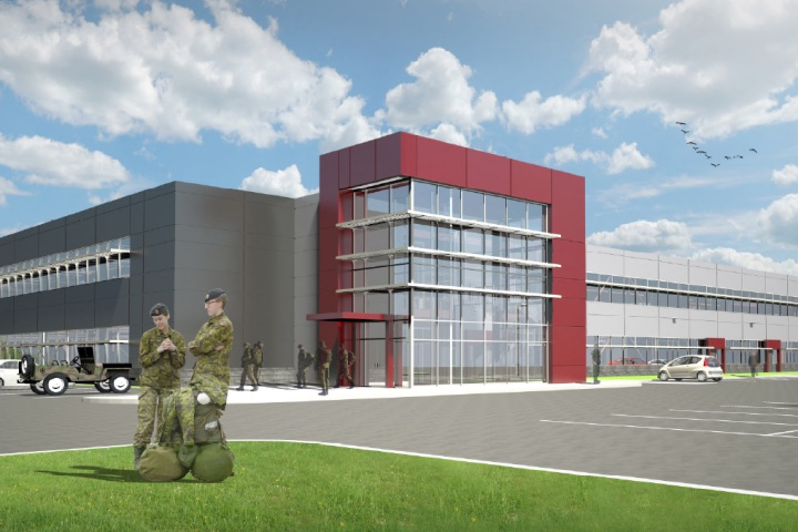 DND to build new $66 Halifax armoury.